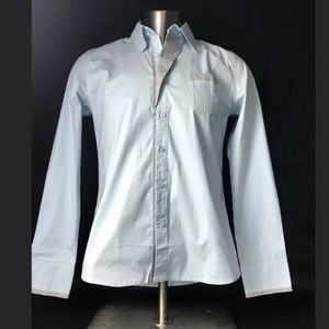 Doublju Light Blue Dress Shirt